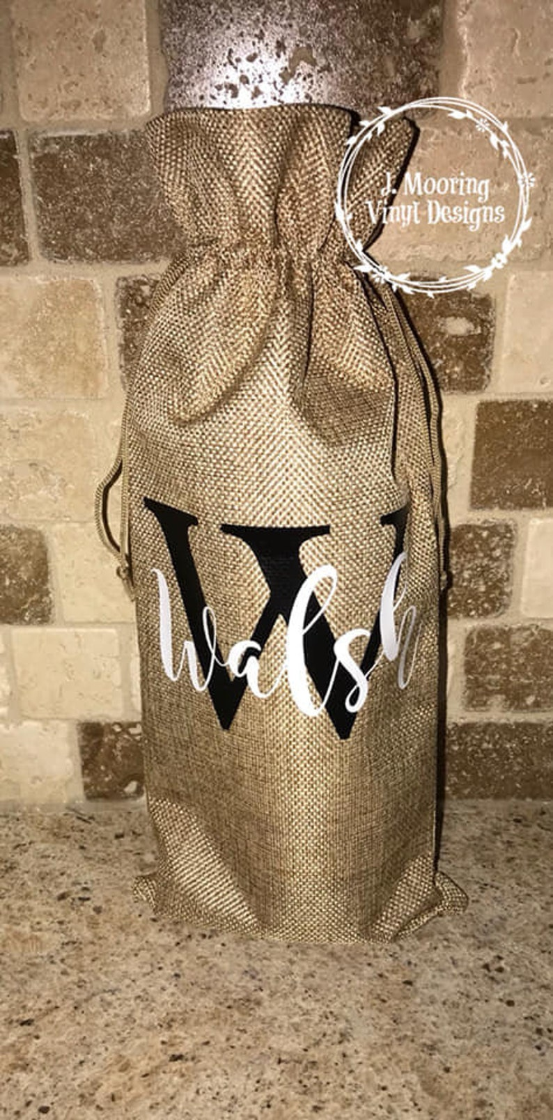 Personalized Wine Bags