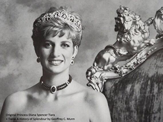 Princess Diana Spencer Wedding Tiara Crown Royal Replica Etsy