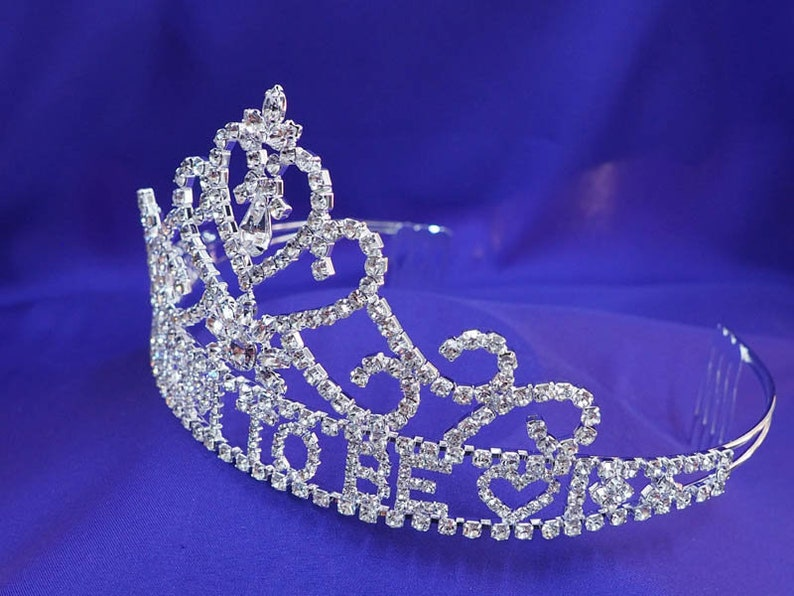 Mom to be Tiara Crown Baby Shower Gift Party