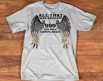 Items similar to Angel Number 999 Long Sleeve TShirt on Etsy
