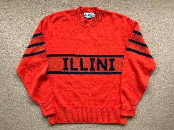 University of Illinois (Illini) Letter Sweater – A