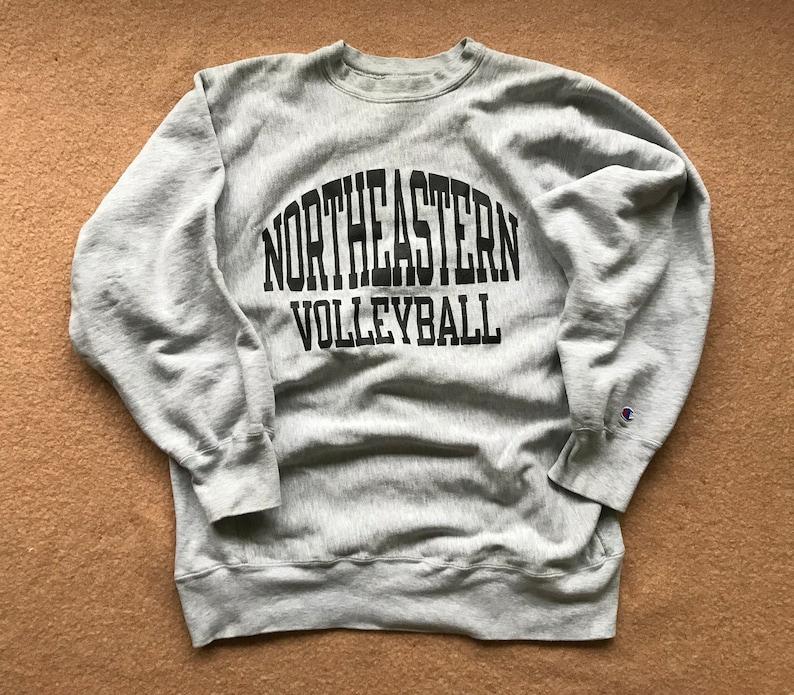 best sneakers 22222 63b02 Northeastern University Volleyball Sweatshirt Reverse Weave   Etsy