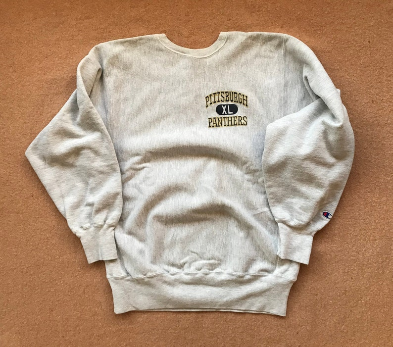 sports shoes 131a0 31338 University of Pittsburgh Pitt Sweatshirt Reverse Weave by   Etsy