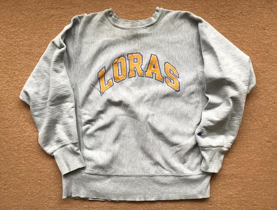 Loras College (Duhawks) Sweatshirt – Reverse Weave