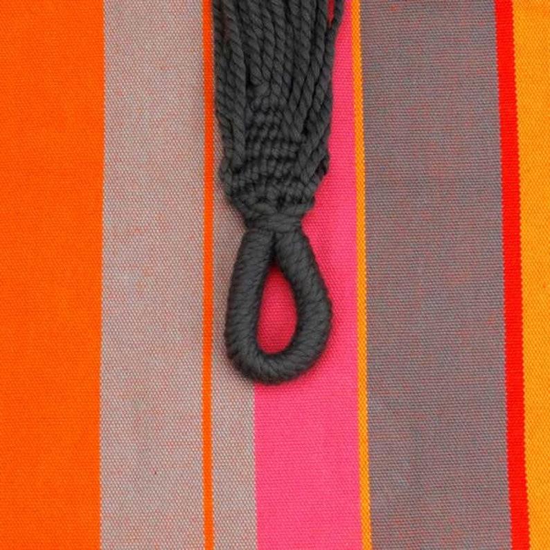 Cotton Fairtrade Single Hammock Mandarina 230 x 130 cm