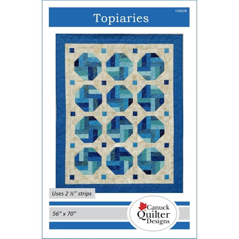 Topiaries Quilt Pattern PDF download image 1