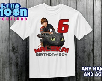 cf1832704 How To Train Your Dragon Birthday Party Shirt Birthday Shirt Birthday Boy