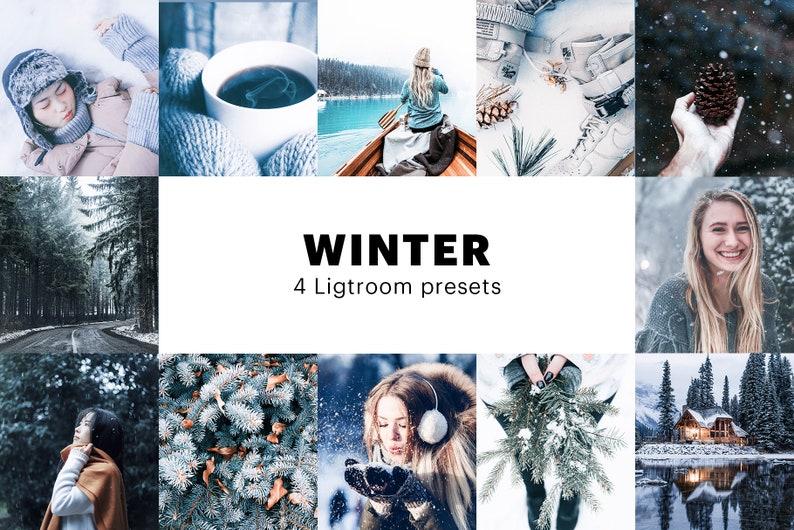 4 Winter Lightroom presets  Instagram Filters  Instagram image 1