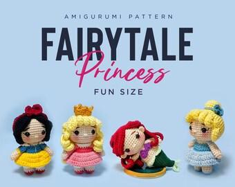 Crochet Doll Amigurumi Pattern Princess / PDF Pattern