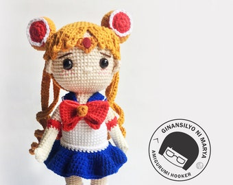 Luffy from One Piece amigurumi   Sewing projects, Crochet one ...   270x340