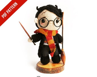 Musings of an Average Mom: Free Harry Potter crochet patterns | 270x340