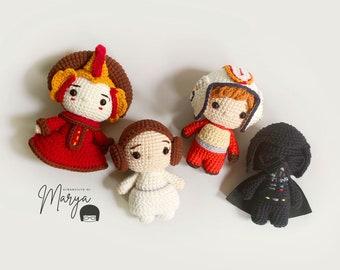 Crochet Doll Amigurumi Pattern Galaxy / PDF Pattern