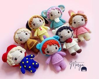 Crochet Doll Amigurumi Pattern K-Pop Friends/ PDF Pattern
