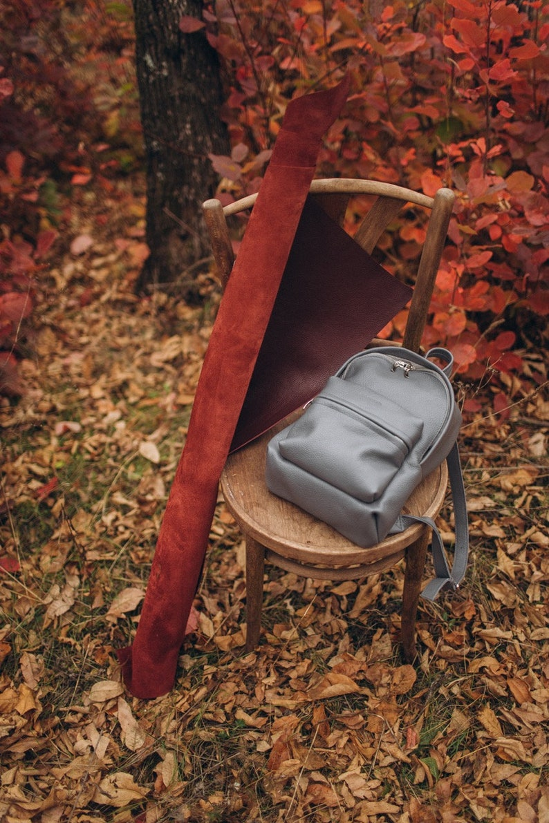 City backpack Leather women backpack Minimalist Leather City Rucksack,Women rucksack,Hipster backpack