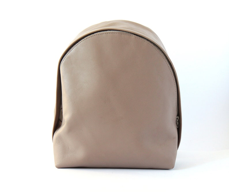 Backpack Purse Leather Backpack Gift For Her Backpack Woman Minimalist Backpack Leather Rucksack
