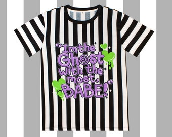 73e35c322 I'm The GHOST With the MOST BABE - Unisex Tee, Beetlejuice, Pastel Goth,  Tim Burton, Creepy Cute, Kawaii