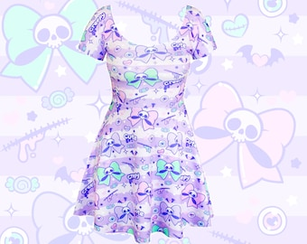 2f4955da34a CREEPY CUTIE - skater dress - fairy kei