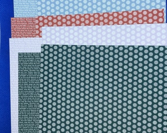 """Stampin Up 2019-2021 In Color Sampler Designer Series Paper 6"""" x 6"""" - 10 double sided sheets"""