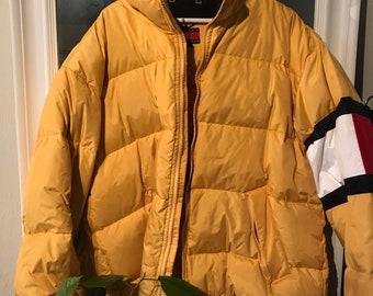 474dd72889 Items similar to 80s ANBA of Austria Cropped Ski Jacket Yellow Blue ...