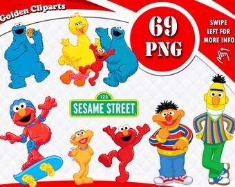 746d264b9d1 Sesame Street Clipart