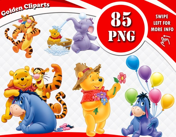 Winnie The Pooh Clip Art - Winnie The Pooh Png, Transparent Png - vhv