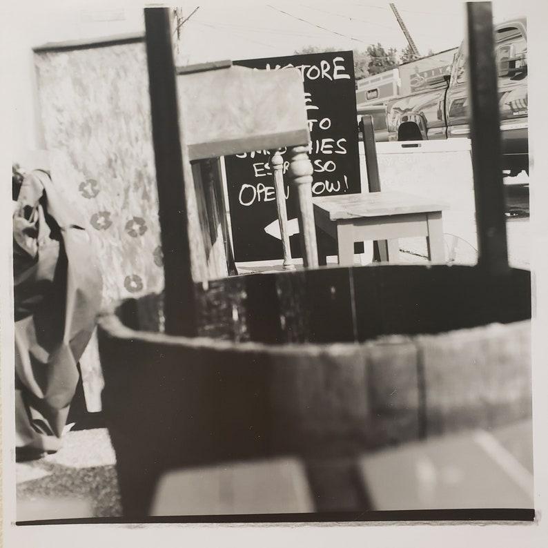 8 x 8.5 inch darkroom photo print