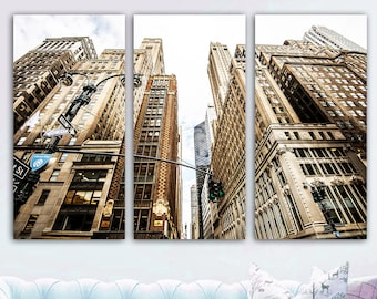 CITY SKYLINE CANVAS