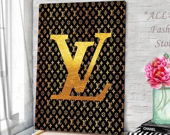 5b29952c9596 Fashion Wall Art Louis Vuitton Prints Louis Vuitton Canvas Louis Vuitton Art  Fashion Canvas Wall Art Fashion Illustration Fashion Poster Art