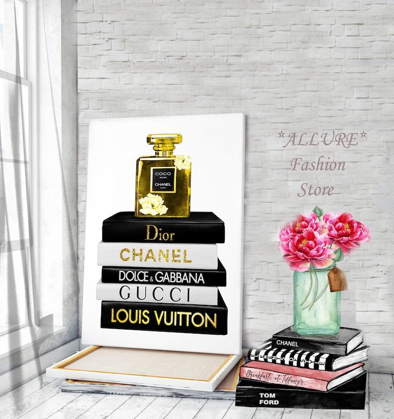 9db6be7cef66d Canvas Wall Art Fashion Wall Art Chanel Canvas Chanel Perfume Prints Chanel  Wall Art Fashion Illustration Chanel Prints Perfume Canvas Art