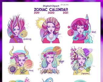 Zodiac   Etsy