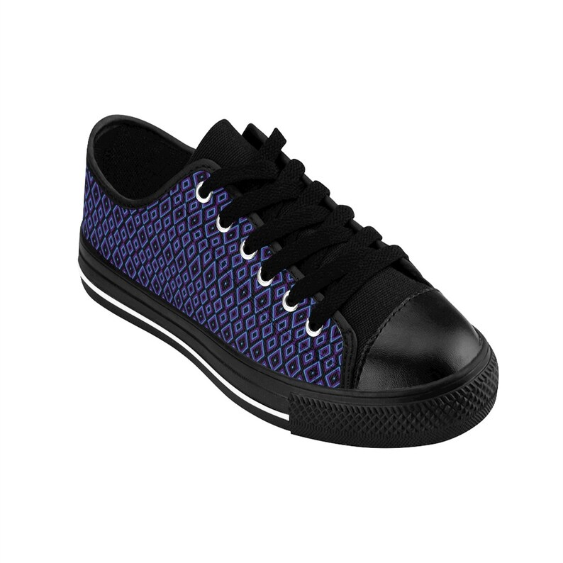 Diamond Print Women/'s Sneakers