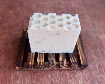 Honey & Lavender Shea Butter Soap Bar