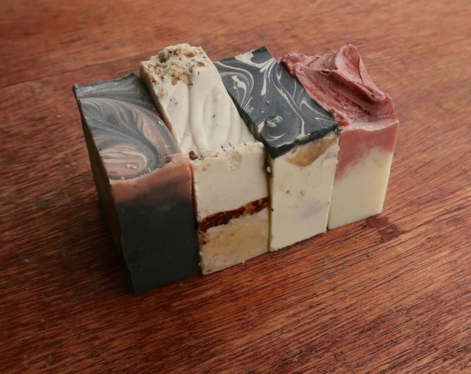 2 Lbs. Mystery Shea Butter Soap- Ugly Bars & Odds and Ends