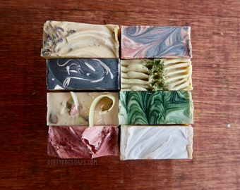 8 Mystery Bars of Shea Butter Soap