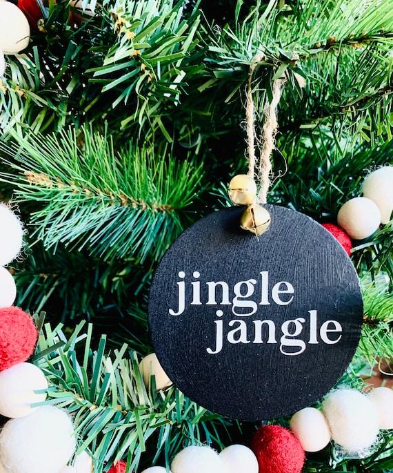 Christmas Decor Snowflake Ornaments Christmas Ornaments Jingle Jangle Christmas Tree Decor