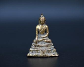 Religion & Spirituality Shop For Cheap Medicine Buddha Statue Varada Mudra Healing Amulet Buddhist Nepal Art Brass Statues & Figures