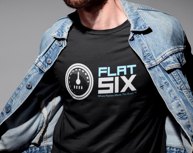 Flat Six Where Passion Meets The Road Sport Car Shirt