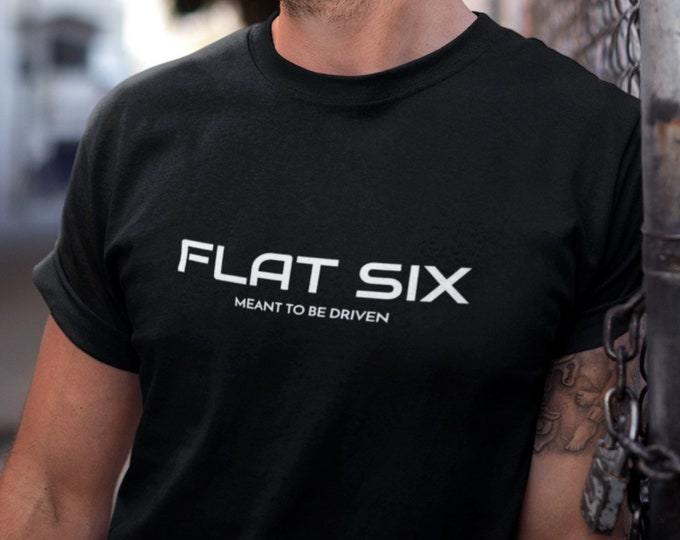 Flat Six Meant To Be Driven Double Sided Print - Premium