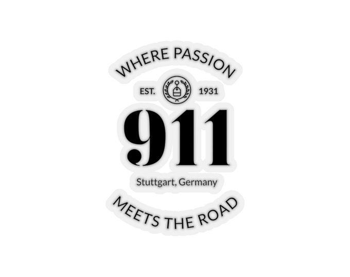 Where Passion Meets The Road Sticker