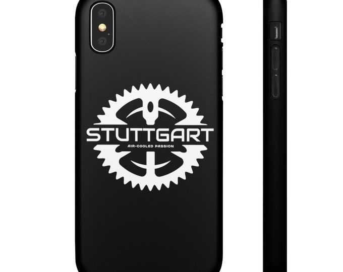 Stuttgart Air-Cooled Passion iPhone Cases - 7, 8, 8 Plus, xr, xs, xs max