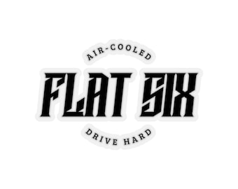 Flat Six Sticker