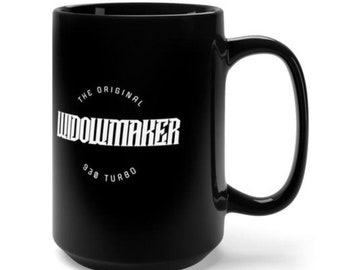 Widowmaker Black Mug 15oz