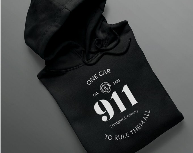 911 Hoodie One Car To Rule Them All