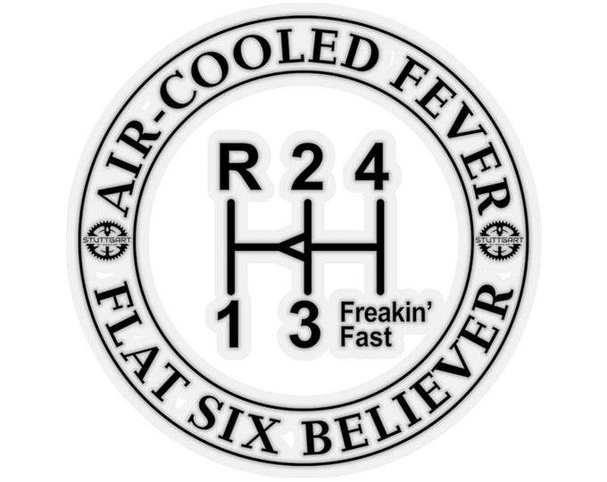 Air-Cooled Fever, Flat Six Believer 2 Sticker
