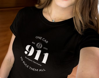Women's 911 One Car To Rule Them All Sports Car Shirt