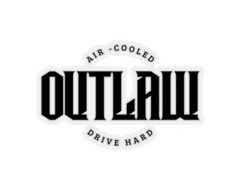 Outlaw Air-Cooled Sticker