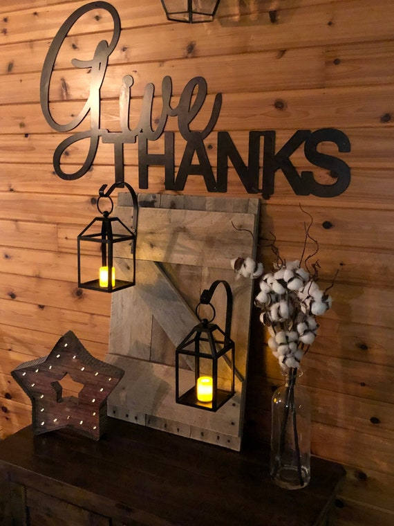 "1 Wrought Iron Wall Hook Plant  Lantern Hanger 6/"" Rustic Antique Barn Style Bent"