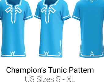 4014d017213e Champion s Tunic Sewing Pattern   Breath of the Wild Link   Cosplay Pattern    BOTW Cosplay   Legend of Zelda