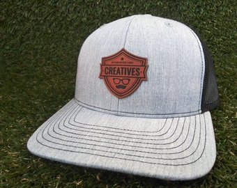 87c6ceb4f934b Leatherette Patch Hats