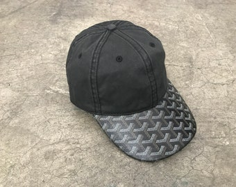 71c4fe1f1c0 Custom Goyard Dad Hat in Black